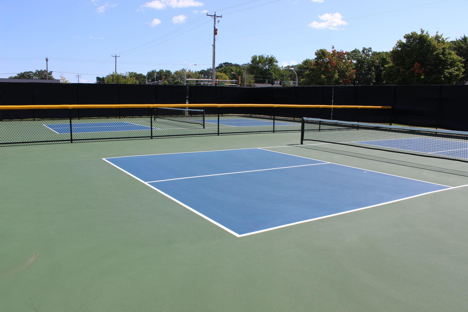 Pickleball Courts at Rivers Edge Park