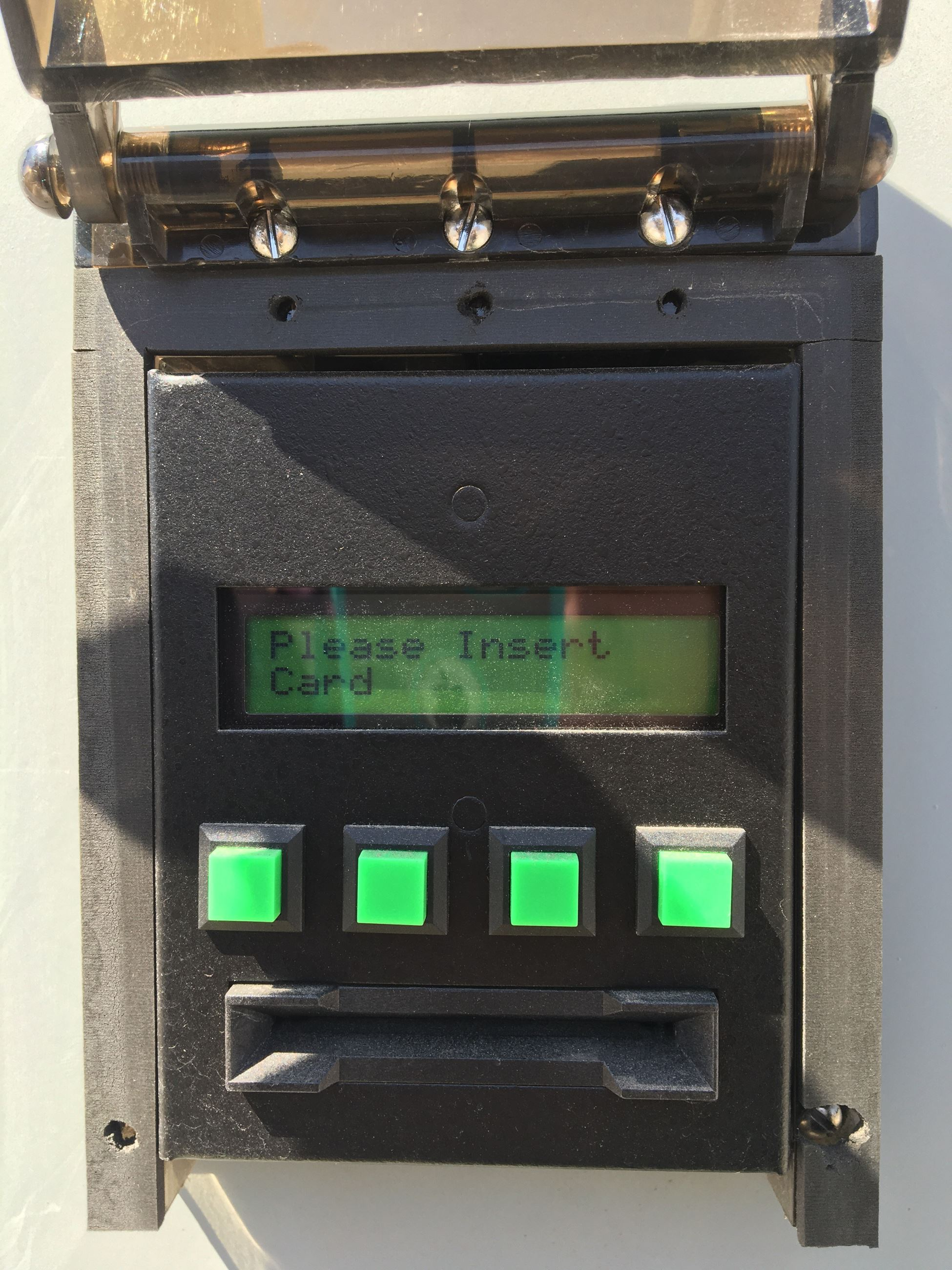 Watersalesman Card Reader Display-Insert Card